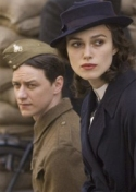 James McAvoy and Keira Knightley in 'Atonement'