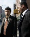 Jeremy Sisto and Jesse L. Martin in 'Law & Order'