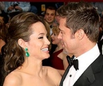 Angelina Jolie and Brad Pitt - Oscars 2009