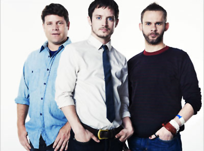 Sean Astin, Elijah Wood, Dominic Monaghan - EW, Oct 2010