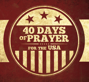 40 Days of Prayer for America